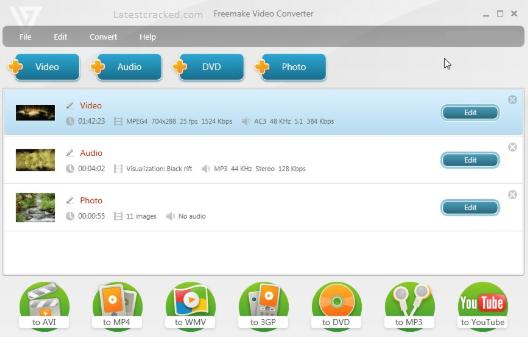 Freemake Video Converter Serial Key
